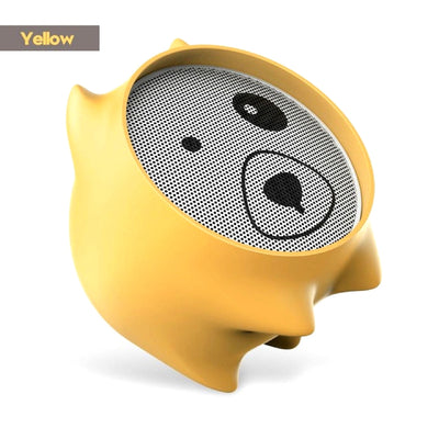 Dogz Portable Bluetooth Wireless Speaker Yellow Color