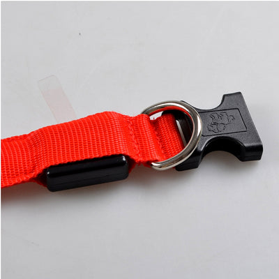 LED Rechargeable Dog Collar Strap