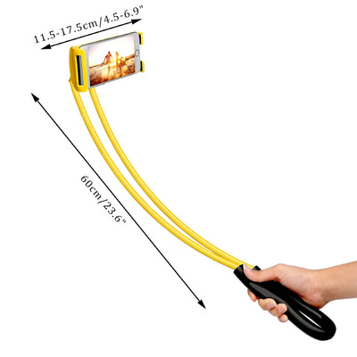 Lazy Hanging Neck Mobile Phone Holder Dimension