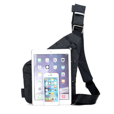Multi-Purpose Crossbody Shoulder Messenger Bag Front View