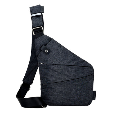 Multi-Purpose Crossbody Shoulder Messenger Bag Left Shoulder