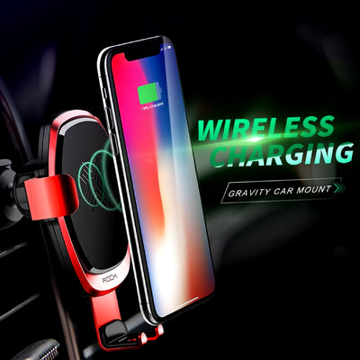 Smartphone Gravity Wireless Charging Car Mount Wireless Charging