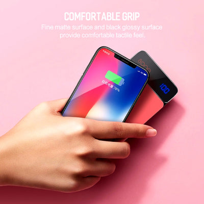 Wireless Charging Powerbank Comfortable Grip