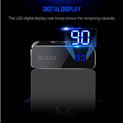 Wireless Charging Powerbank Digital Display