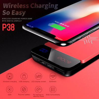 Wireless Charging Powerbank Wireless Charging So Easy