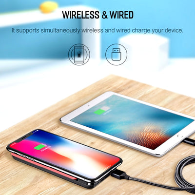 Wireless Charging Powerbank Wireless and Wired