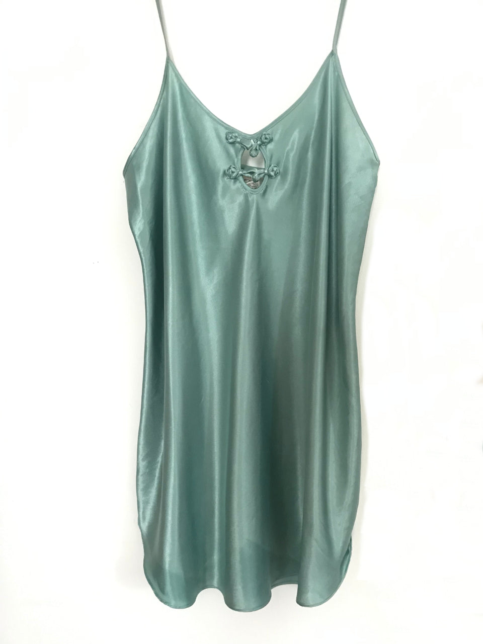 Sage Green Satin Slip