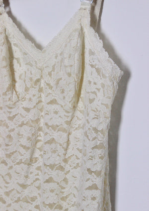 Ivory Lace Pin-Up Teddy