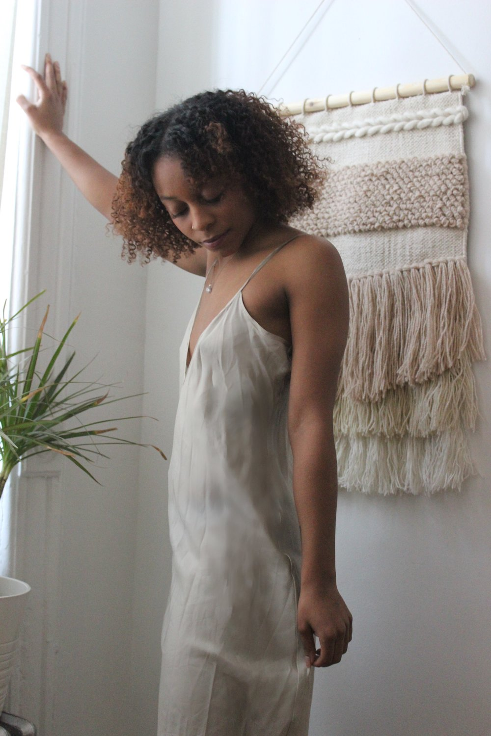 Cloud Sheer Silk Slip