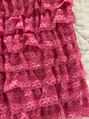 Pink Ruffled Bloomers