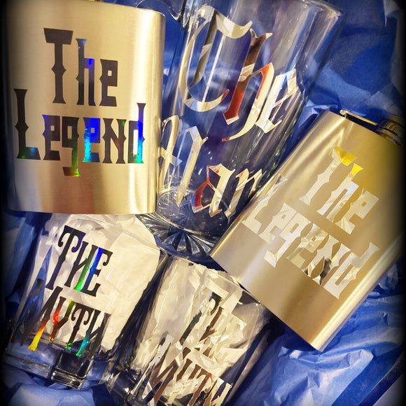 Man Myth Legend Gift Set