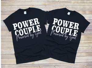 POWER Couple Tees