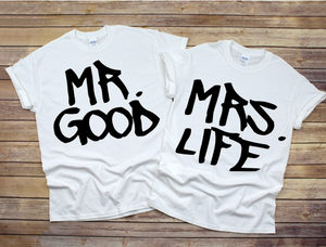 Good Life Couple Tees