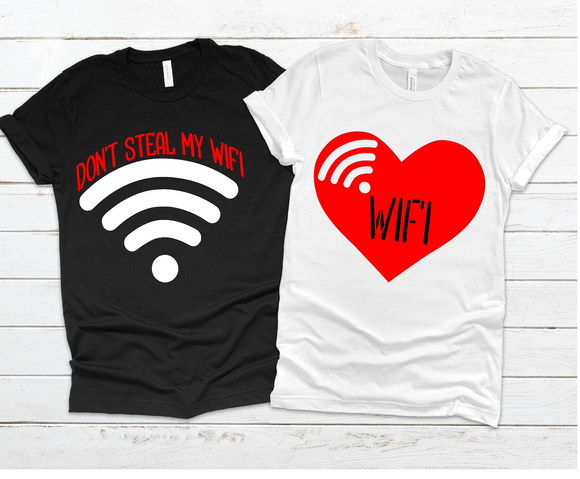 Wifi Couple Tees