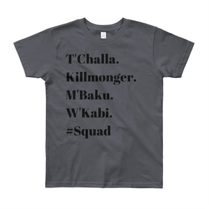 Men of Wakanda Boys' #Squad Tee