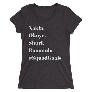 Women of Wakanda #SquadGoals Tee (Slim Fit)