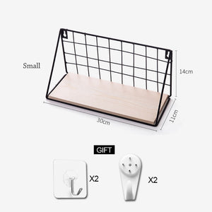 Merveilleux Nordic Wall Mounted Storage Rack