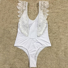 Lace Backless One Piece