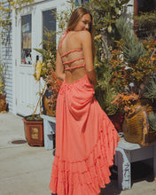 Backless Bohemian Dress