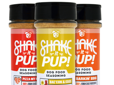 Shake it Pup! Dog Food Seasoning Set (3 x 4.5 oz)