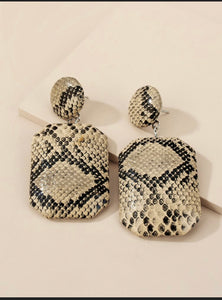 Sneaky Snake Earrings