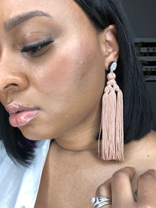 Flirty Tassel Earrings