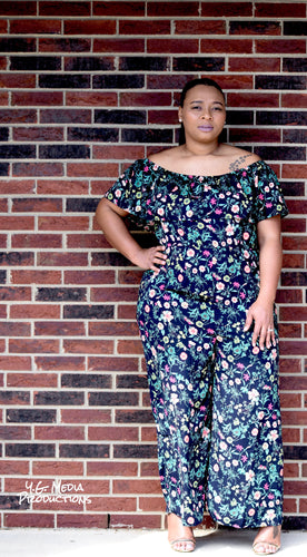 Mena Wide Leg Jumpsuit