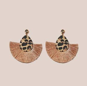 Sheeba Leopard Earrings