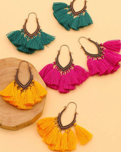 Frills Fringe Earrings