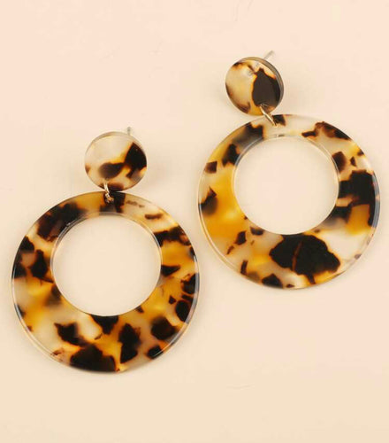 Britt Tortoise Earrings