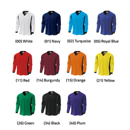P1930 - Basic Long Sleeve Football Jersey