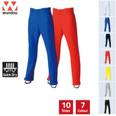 P2760 -Full-Length Straight baseball Trousers