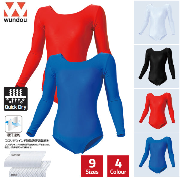 Women's Long Sleeve Gymnastics Leotard