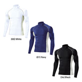 High-Neck Long Sleeve Base Layer Top
