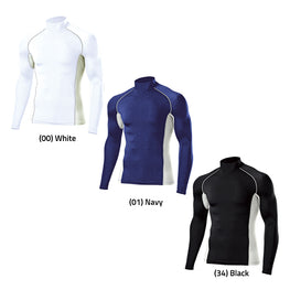 P7000 - High-Neck Long Sleeve Base Layer Top