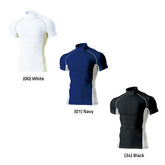 P7010 - High-Neck Short Sleeve Base Layer Top