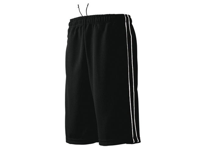 P2080 - Half-Length Track Trousers with Piping
