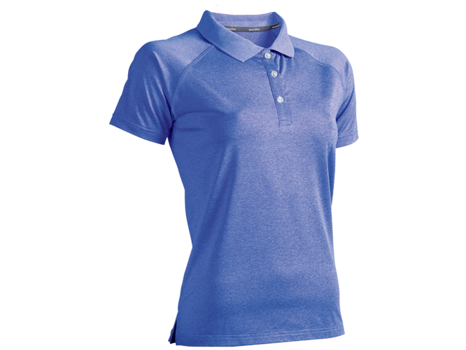 Women's Fitness Stretch Polo Shirt