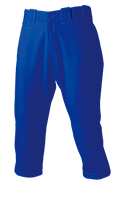 Short-Length Baseball Trousers