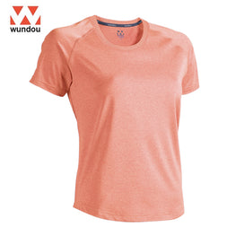 Women Fitness Stretch T-shirt