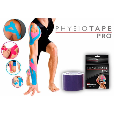10 unidades Physiotape Pro - Fisiolab | Kinesiología, Fisioterapia, Mecanoterapia