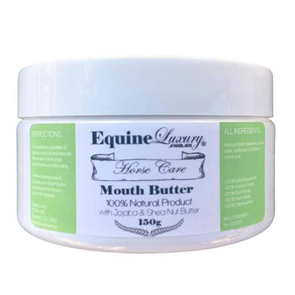 EquineLuxury Mouth Butter with Jojoba & Shea Nut Butter