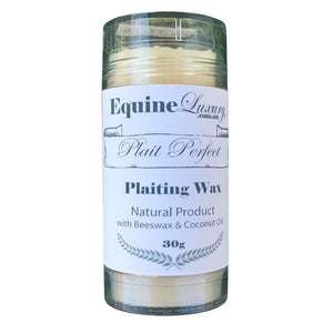 "EquineLuxury ""Plait Perfect"" Plaiting Wax with Shea Nut Butter"
