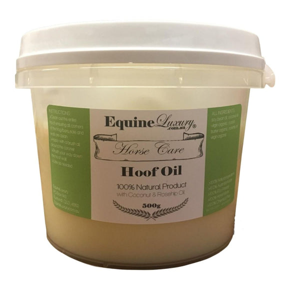 EquineLuxury Natural Hoof Oil with Beeswax & Coconut Oil