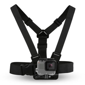 Adjustable Camera Harness Chest Strap Mount