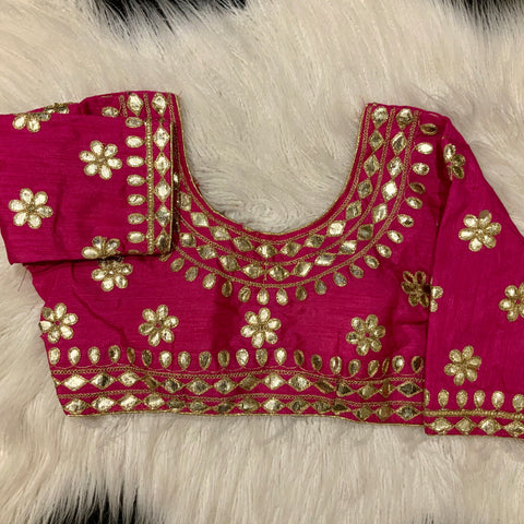 Pink 3/4 Blouse