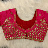3/4 Heavy Blouse - Magenta