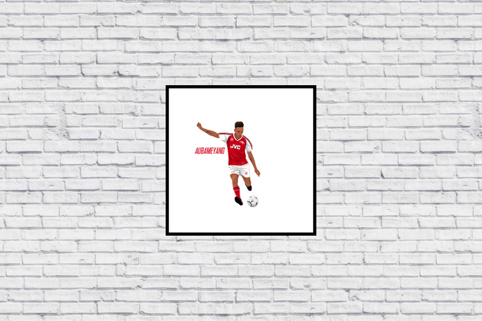 Aubameyang JVC Kit in Wall Print