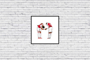 Service Provided - Auba & Laca in Wall Print