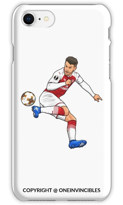 Aaron Ramsey Donkey Kick Iphone 6S / Tough White Phone Cases